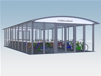 X-Rail Cycle garage