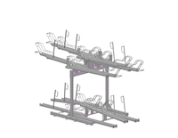 Bicycle double rack Safe-X Double