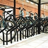 Bicycle stand Publicus in cycle shelter City 90 Plaza Double