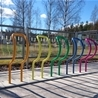 Bicycle stand Arc, multi-coloured
