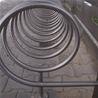 Bicycle stand 07-11-01, matted polished in cycle shelter