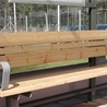 Bench Ivar with two armrests